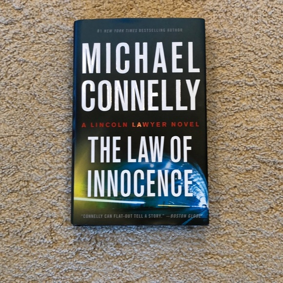 "Michael Connelly ""The Law Of Innocence"""